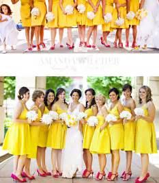 yellow bridesmaid dresses a color spotlight yellow bridesmaid dresses bridesmaid trade