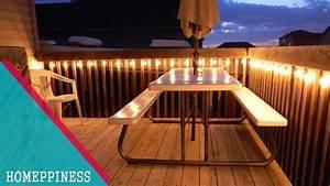 must 30 stunning deck lighting ideas