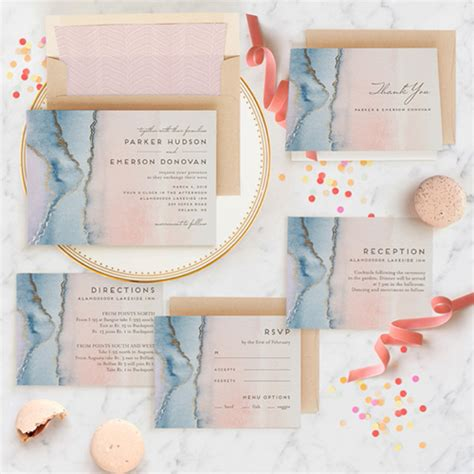 Get Creative With Minted Wedding Invitations + More