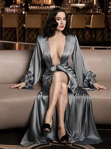 Dita von teese for elle men china december 2012 fab for Dita von teese robe