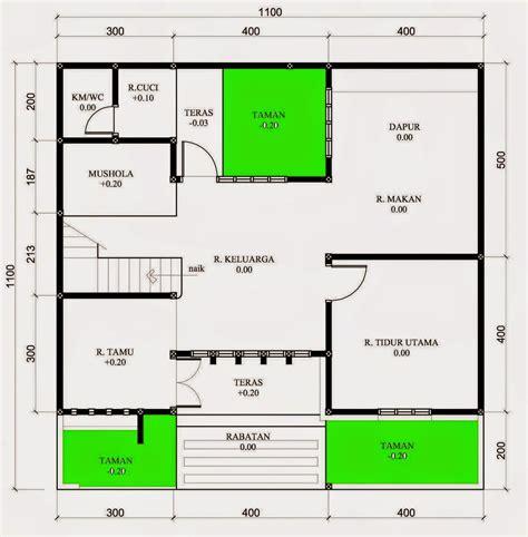 desain rumah  kamar  mushola