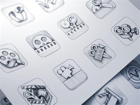 vizzywig ios icon design process  ramotion  dribbble