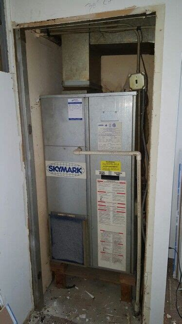 skymark package unit  closet prior  removal