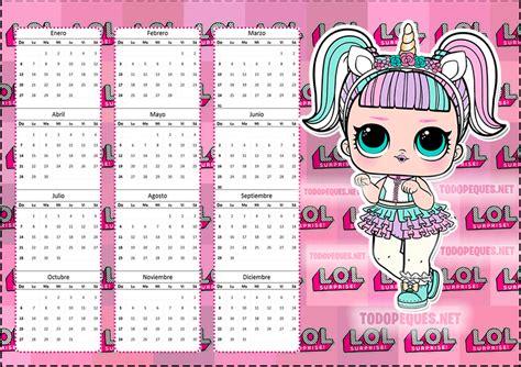 calendarios infantiles   descargar gratis todo peques