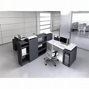 Bureau Noir Et Blanc : bureau op ratif trap ze logic noir et blanc ~ Melissatoandfro.com Idées de Décoration