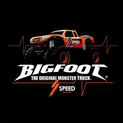 bigfoot monster truck t shirts speedenergy black shirt bigfoot