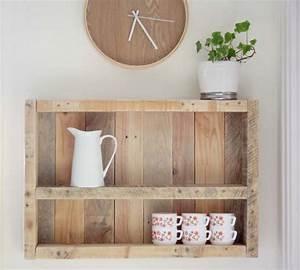 étagère En Palette : etagere en palette ~ Dallasstarsshop.com Idées de Décoration