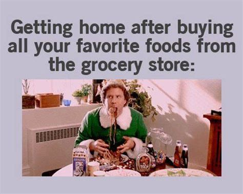 Grocery Meme - elf jpg 496 215 396 food memes pinterest posts shopping and the o jays