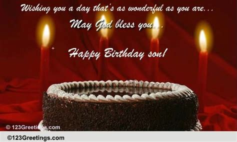 happy birthday son  law  extended family ecards greeting cards