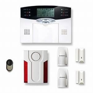 alarme maison sans fil 1 a 2 pieces mn mouvement With alarme maison sirene exterieure