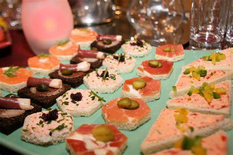 canapé traiteur menu buffet mariage traiteur