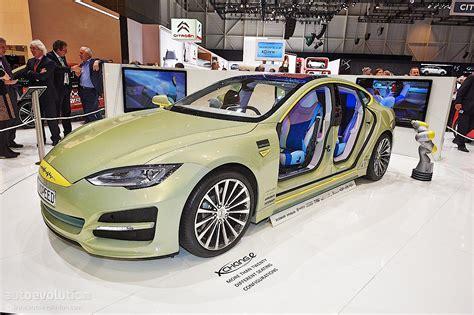 Rinspeed Tesla XchangE Steps Into the Future at Geneva ...