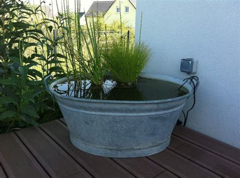 76 Best Galvanized Tub Water Gardens Images On Pinterest