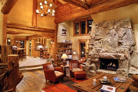 log home interiors 21 rustic log cabin interior design ideas style motivation