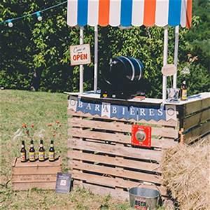 Fabriquer Un Bar : comment fabriquer un bar en palette pour le jardin ~ Carolinahurricanesstore.com Idées de Décoration