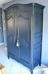 Comment Transformer Une Armoire Ancienne : r nover une armoire normande c 39 est tr s simple et a permet de mettre au go t du jour un meuble ~ Melissatoandfro.com Idées de Décoration