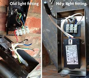 Wiring For Replacement Outside Light
