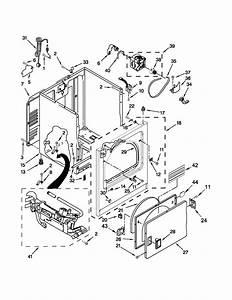 Whirlpool Wgd4800xq4 Dryer Parts