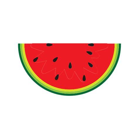 eating breakfast fruit watermelon food ice cream icon