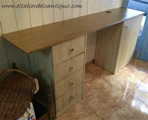 como pintar muebles de melamina el taller de lo antiguo