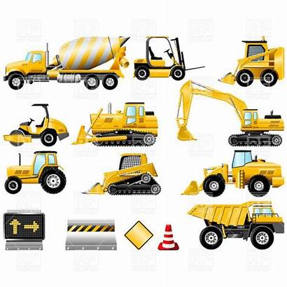 Construction Clipart Machinery Equipment Clip Icon Icons