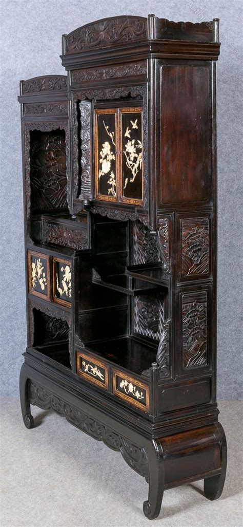 antique home furniture meiji period shodana cabinet antiques atlas 1272