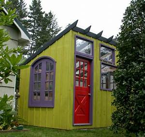 Gartenhaus Farbig Gestalten : bunte gartenh user 24 kreative ideen ~ Orissabook.com Haus und Dekorationen