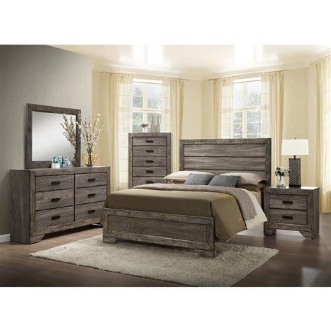 elements international nathan bedroom set