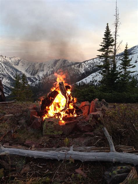 camp fire   mountains pictures   images