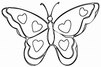 Coloring Wings Heart Pages Popular