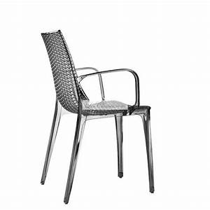 Chaise De Bar Avec Accoudoir : chaise avec accoudoir par scab et chaises design transparente chaises fum rouge blanc ~ Teatrodelosmanantiales.com Idées de Décoration