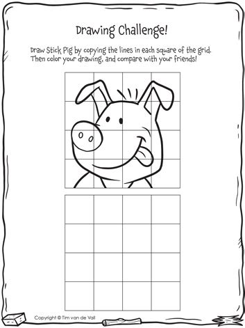 Three Little Pigs Drawing Activities The Three Little