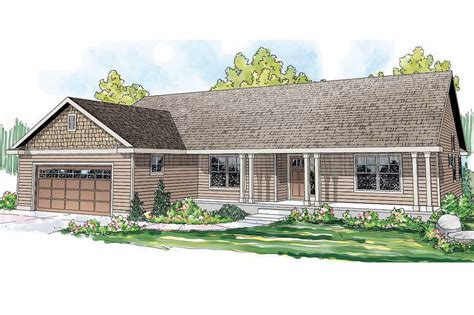 Ranch House Plans  Fern View 30766  Associated Designs