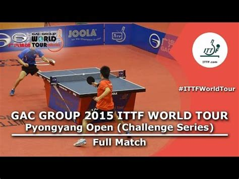 2015 Hyson Chicago Int'l Table Tennis Open  Semis And