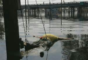 Hurricane Katrina Floating Dead Bodies