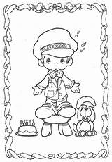 Precious Moments Coloring Pages Birthday Cowboy Adults Coloringpages101 Colouring Angel Printable Christmas Template Geocities Freecoloringpages Larger Credit Preciousmoments Prinatble sketch template