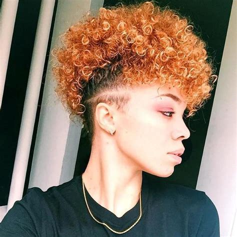 20 fancy natural hair mohawk hairstyles