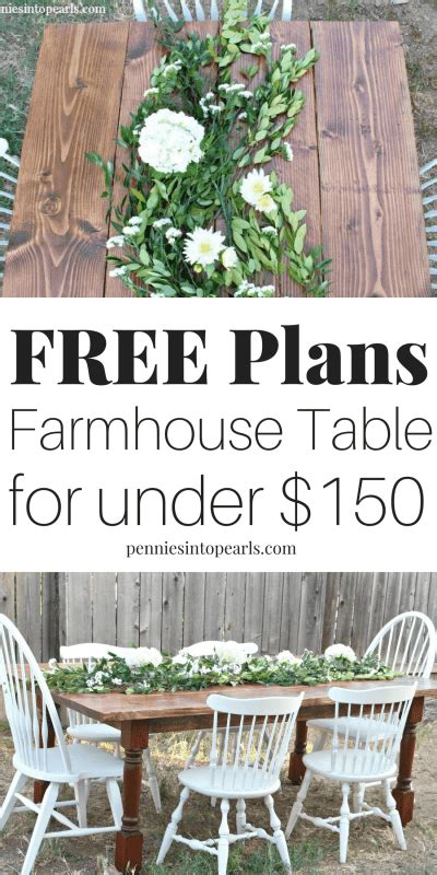 How To Build A Farmhouse Table  Diy Farmhouse Table