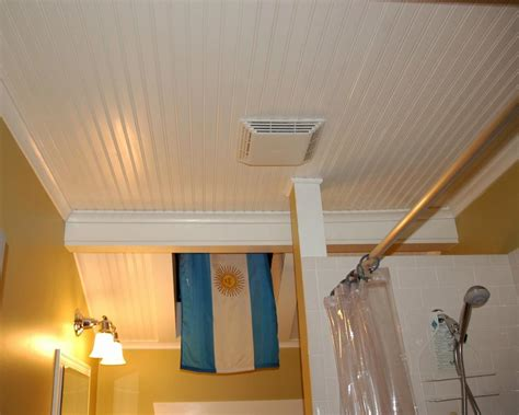 How To Install Beadboard On Bathroom Ceiling Www