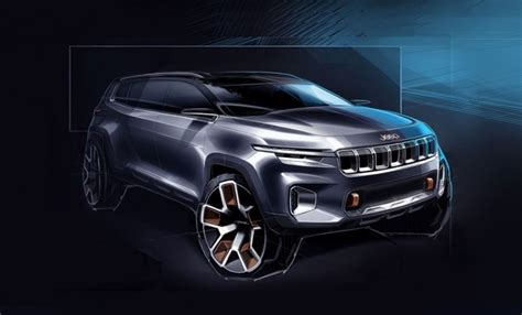 Jeep Yuntu Concept Teased; Hints At A New 7-seat, Plug-in