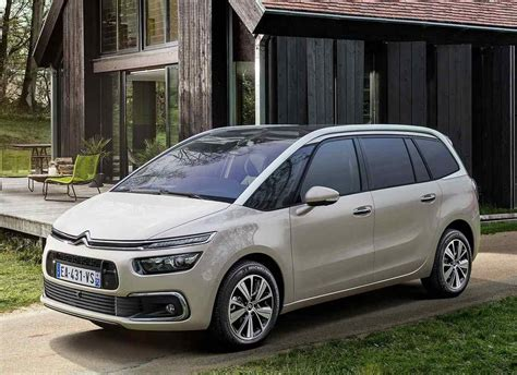 New 20182019 Citroen C4 Picasso  The Restyling Of The