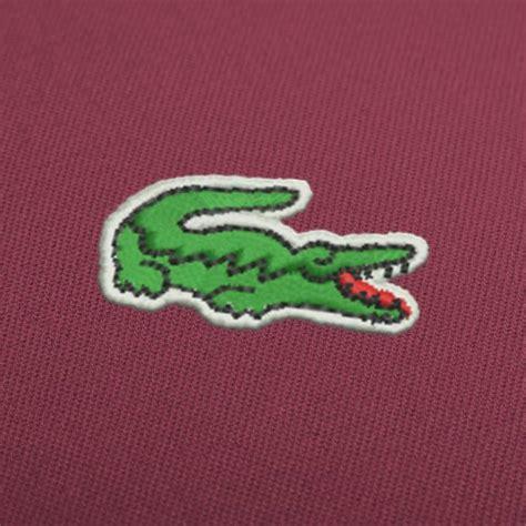 lacoste logo broderie motifs