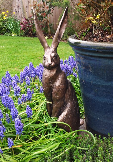 sitting hare sculpture large