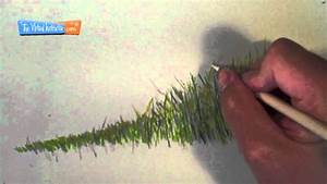 how to draw grass colored pencils