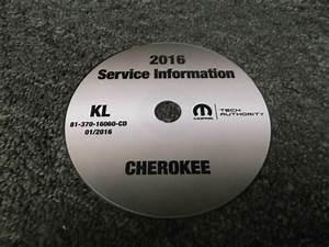 2016 Jeep Cherokee Service Manual Cd Sport Latitude