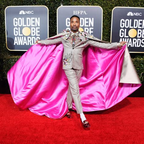 Oscars Red Carpet Billy Porter Wears Tuxedo Gown