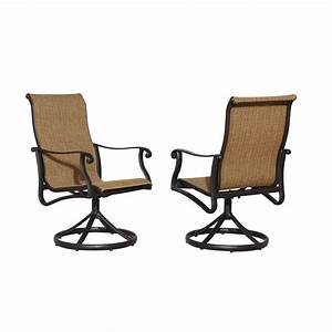 Enlarged image for Swivel patio dining chairs