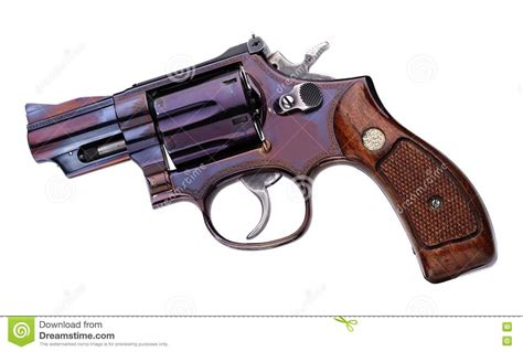Smith Wesson 357 Short Stock Photo Image Of Grip, Safety
