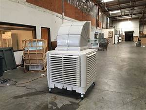 Warehouse Outdoor Air Conditioning