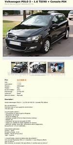 Licence 4 A Vendre Le Bon Coin : vendre sa voiture avec une ps4 perles du bon coin ~ Medecine-chirurgie-esthetiques.com Avis de Voitures